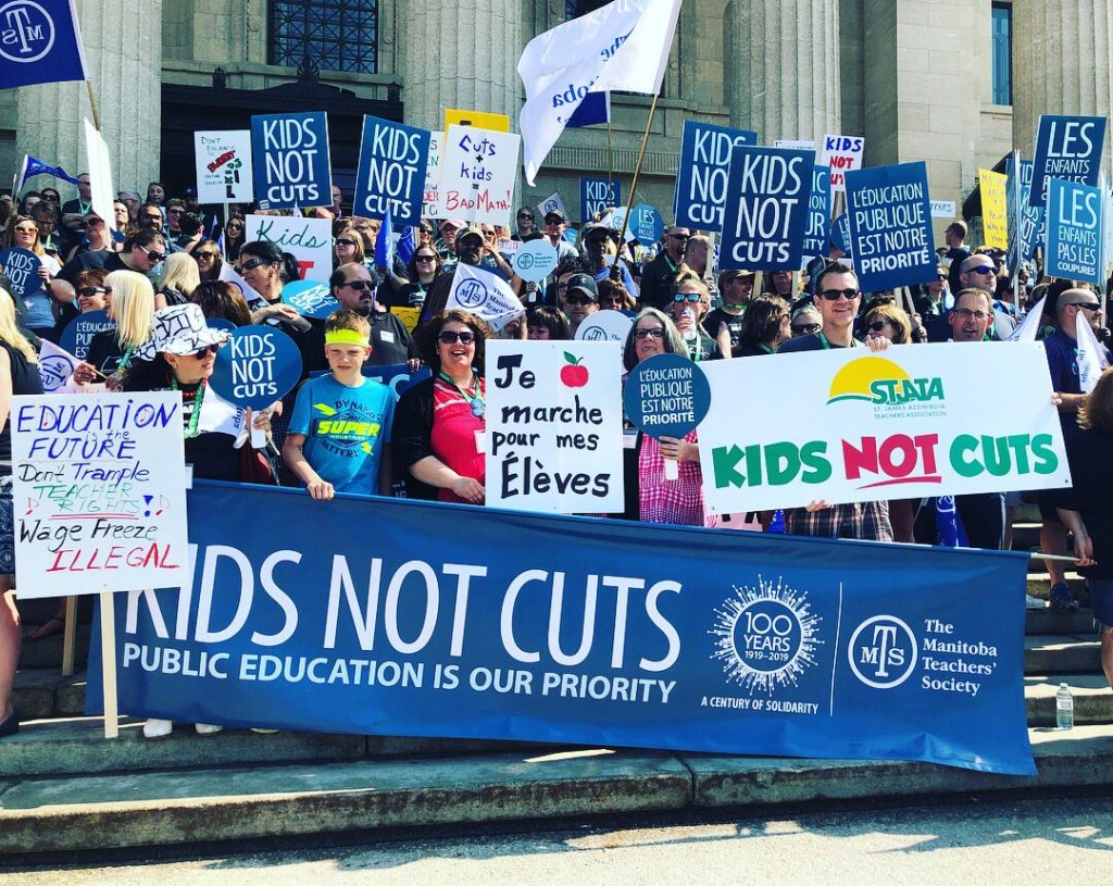 MTS Rally for Public Education