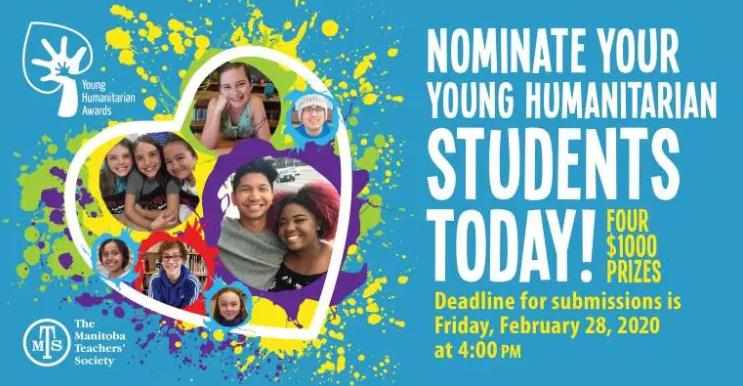Young Humanitarian Award Nominations